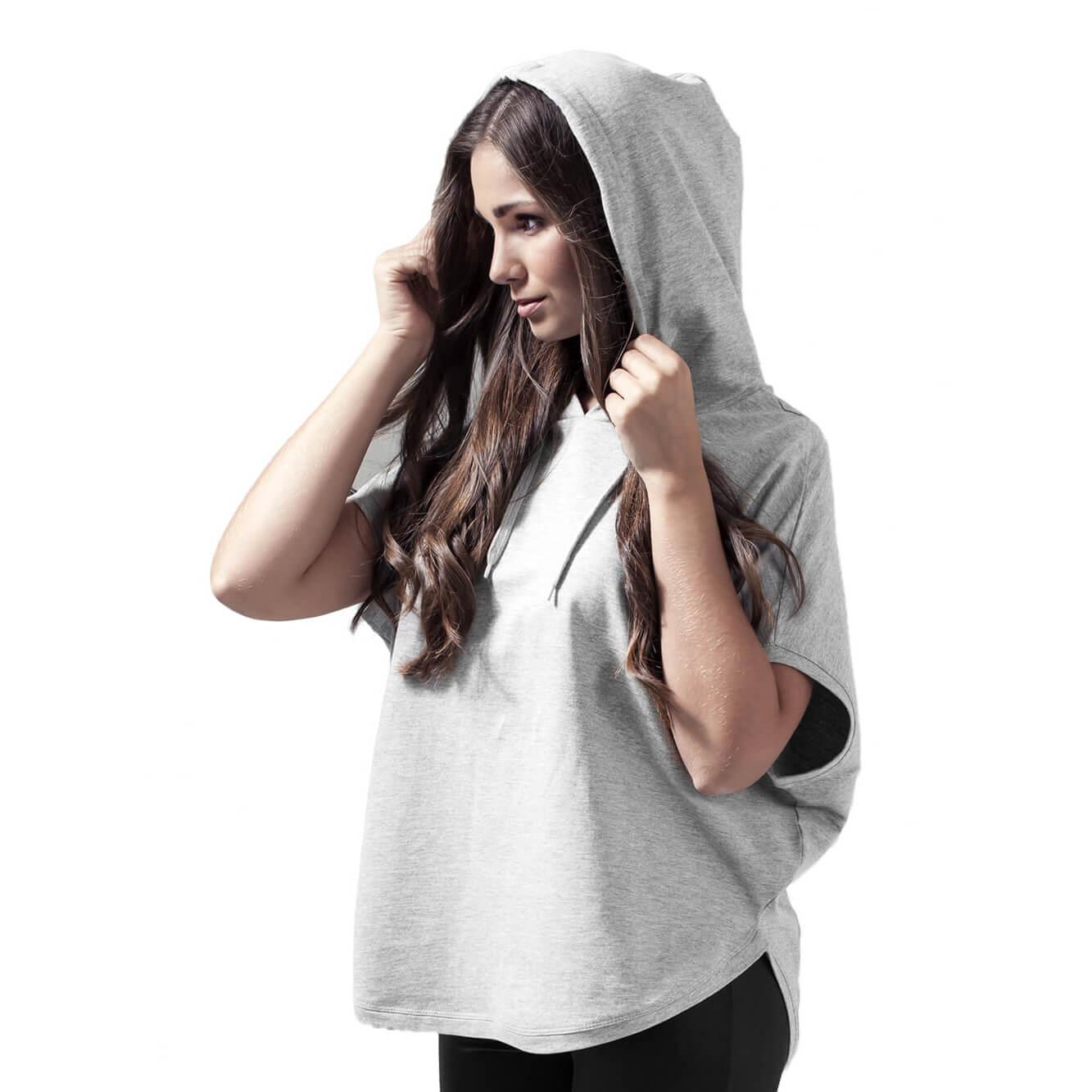 752c1c647c26a Custom Printed Ladies Sleeveless Hoodie