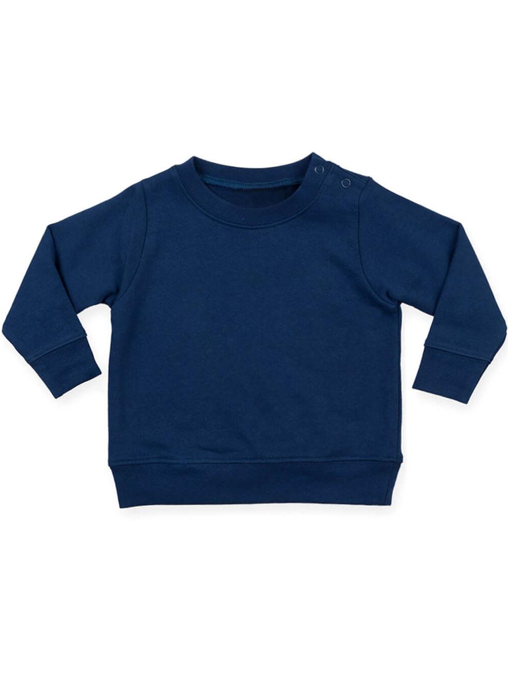 crewneck sweatshirt navy front